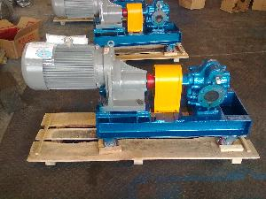 Cast Iron KCB External Gear Pump With Skid