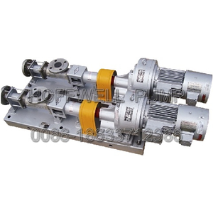 CE Approved G25-2 Sludge Single Screw Pump