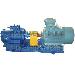 CE Approved 3G42X6A Diesel Oil Feeding Triple Three Screw Pump