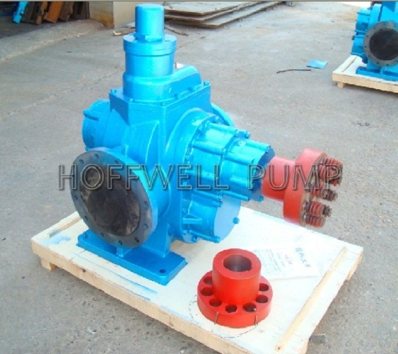 Cast Iron Fuel Oil External Gear Positive Displacement Pump