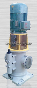 CE Approved Energy Saving Vertical Triple Screw Pump