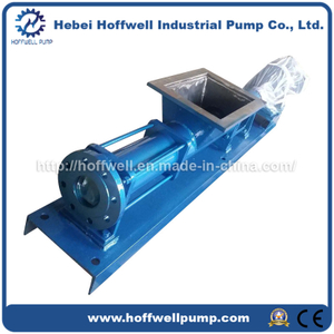 CE Approved G Single Screw Feeding Pump