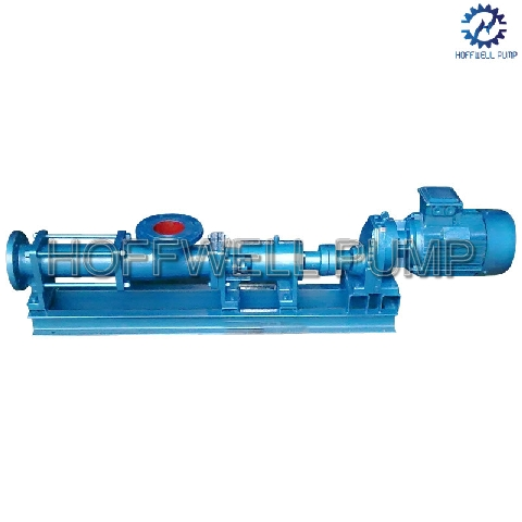 CE Approved G Positive Displacement Single Screw Pump