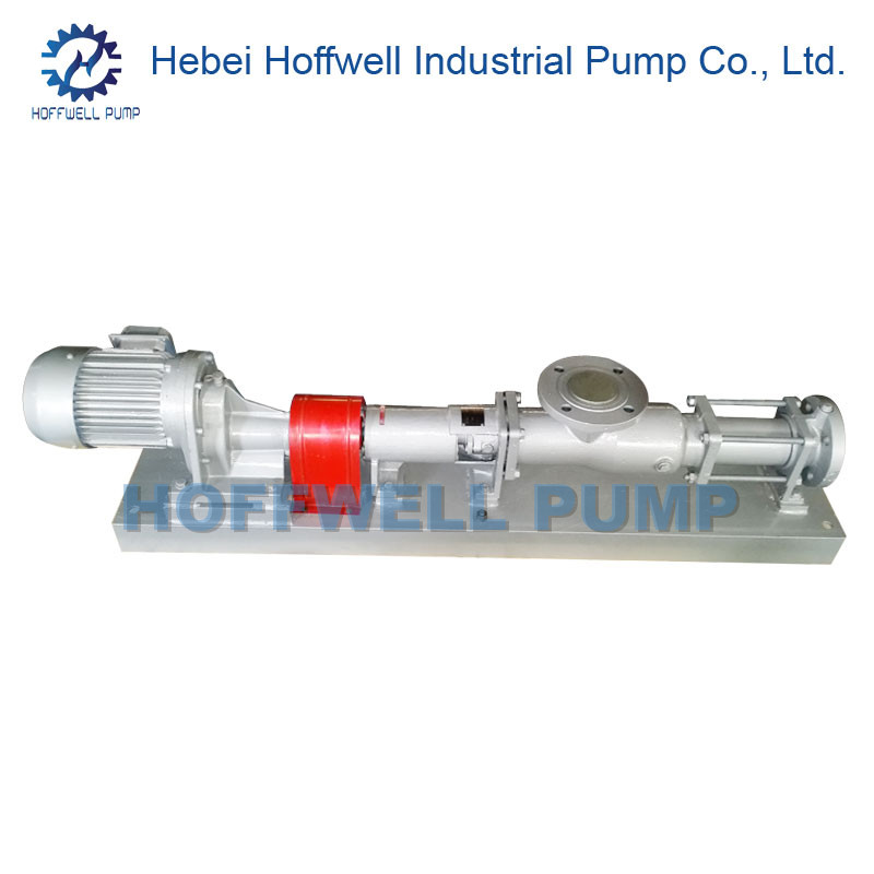 CE Approved G Series Helical Rotor Single Screw Pump