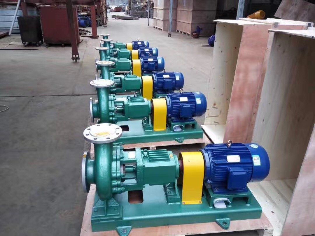 Export IH chemical centrifugal pump with SS304 material